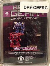 Heavy Gear: C.E.F. Recon Frame Squad (4 minis: 1x CF6-16, 1x F6-16, 2x BF2-25)