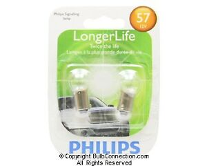 NEW Philips BC9576 57 Automotive 2-Pack 57B2 Bulb