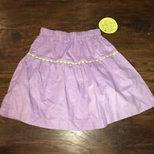 sz 4 Favorite Laundry purple corduroy skirt elastic waist NWT boutique