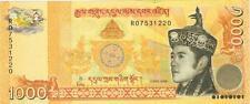 A SAISIR    1  X   BILLET   1000   NGULTRUM    2008     BHOUTAN     NEUF    !!!!