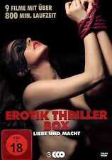 Erotik Thriller Box | 9 Filme | 800 Min. | Erotik | Sex | Klassiker[FSK18] DVD