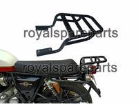 Royal Enfield Rear Luggage Rack Carrier Black For Interceptor 650cc