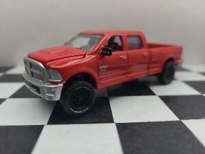 Custom LIFTED 2014 1/64 DODGE RAM 2500 4x4 Truck Cummins. ERTL TOMMY Greenlight