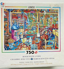 """Jigsaw Puzzle Room With A View The Workshop 750 Piece Ceaco 24"""" x 18"""""""
