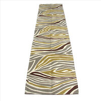 Zebre Collection Zebra Design 16 x 72 inches Table Runner