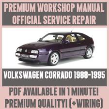 *WORKSHOP MANUAL SERVICE & REPAIR GUIDE for VOLKSWAGEN CORRADO 1988-1995 +WIRING