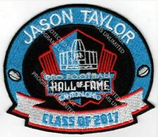 Jason Taylor Patch 2017 Pro Football Hall of Fame Dolphins Redskins Super Bowl