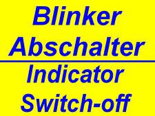 Autom. intermitente desconexión bmw 850 1100 1150 1200 R GS RT C K blinkerrückstellung