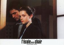 ROXANE MESQUIDA L'ECOLE DE LA CHAIR 1998 VINTAGE LOBBY CARD #1  BENOIT JACQUOT
