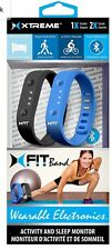 Xtreme Fit Band Wearable Electronics: 1 Tracker  2 Bands Black/ Blue