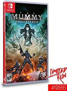 The Mummy Demastered Limited Run #086 Nintendo Switch [Adventure Platformer] NEW
