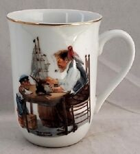 Norman Rockwell Rockwell Museum Collectors Mug (1982) For A Good Boy