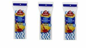 O'Cedar Easy Squeeze Sponge Mop Refill ~ New