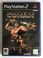 PS2 Conan (2004), UK Pal, Brand New & Sony Factory Sealed, Flawed