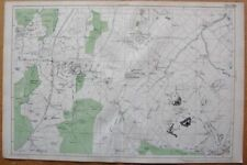 London Antique Europe Sheet Maps