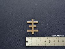 Psychic TV Logo Necklace stainless steel PTV Pendant merch logo symbol