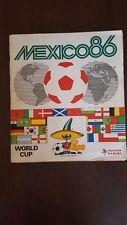 "ALBUM FIGURINE PANINI ""MEXICO 86"" COMPLETO ED ORIGINALE"
