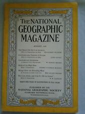 The National Geographic August 1938. Coca cola ad