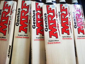 MRF GRAND EDITION& LIMITED EDITION CRICKET BATS