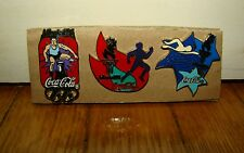 3 SPILLE PINS-COCACOLA COKE OLIMPIC GAMES ATLANTA 96- BADGE PATAS STIFTE BROCHES