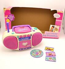 Barbie Dance with Me Talking Boombox Cassette CD Toy Player BE-160 Original Box