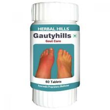 GAUTY HILLS 60 Tablets Natural Gout Relief guduchi joint pain swelling herbal