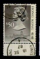 Hongkong 1987 Mi. 521 I Gestempelt 100% Königin Elizabeth die zweite