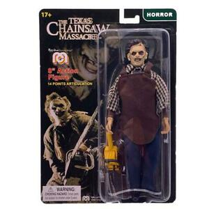 """MEGO HORROR TEXAS CHAINSAW MASSACRE LEATHERFACE 8"""" COLLECTIBLE ACTION FIGURE"""