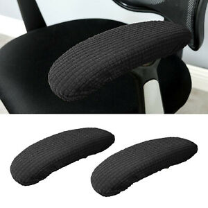 2Pcs Office Gaming Chair Armrest Covers Cushions Pads Comfy Desk Chair Arm Cover