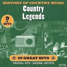History of Country Music: Country Legends Various Artists Audio CD