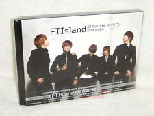 FTIsland Beautiful Hits for Asia Vol.2 Taiwan CD+DVD