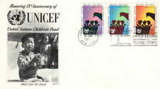 1960 UNITED NATIONS FDC FLEETWOOD CACHET COVER - UNICEF