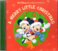 Walt Disney's A MERRY LITTLE CHRISTMAS: 18 HOLIDAY FAVORITES! (2008) IMPORT! NEW