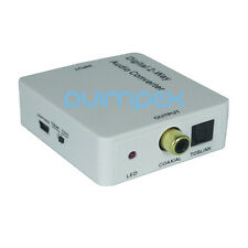 D01 Coassiale Toslink Audio Convertitore Adattatore Trasduttore DCT 2 Direzione