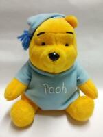 "McDonald's Winnie The Pooh Sky Blue Pajamas 7"" Plush Soft Toy F/S (PTY109)"