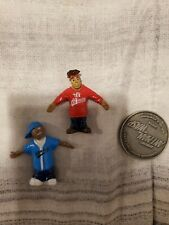 "HOMIES 3"" BENDABLE FIGURE RETIRED RARE SERIES GUMBY STYLE!!! RED and BLUE"