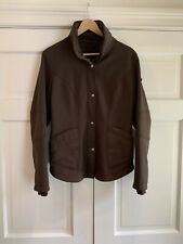 POST CARD Ski Snowboard Winter Jacket Brown Women's Size 8 EUC Made In Italy