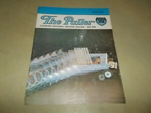 Vintage July 1974 The Puller Magazine NTPA Tractor Pulling Motorsports !