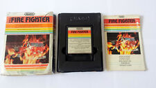 Atari 2600 FIRE FIGHTER Imagic Video Game - Complete - Tested