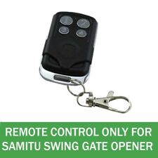 RF Remote control for SAMITU Branded Swing Gate Opener only not universal