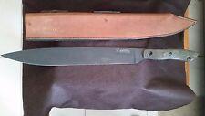Blackjack Panga Black Coated, Large Fighting Knife w/Sheath, Extremely Rare!!