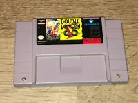 Double Dragon V The Shadow Falls Super Nintendo Snes Cleaned Tested Authentic