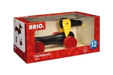 Brio Kleinkindwelt Holz Nachziehspielzeug Nachzieh Dackel 30332
