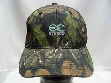 EC COMPANY - CAMOUFLAGE - ADJUSTABLE STRAPBACK BALL CAP HAT