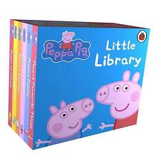 Peppa Pig Little Library Books Set Kids Children Story Mini Book KIDS GIFT NEW