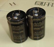 2×Nichicon Super Through 3300uF 25V 25*40 Audio Electrolytic Capacitor #J108 lx