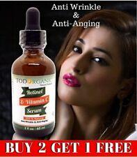 Suero De Retinol Y Vitamina C 2oz, Mejor Suero Antiarrugas Y Antienvejecimiento
