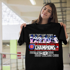 Chicago CUBS NL central Division 2020 champions Fly the MLB shirt