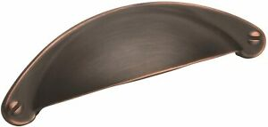 Amerock Bp9365g10 Essential Z ™ 2–1/2in (64 mm) CTC Pull – Oil-rubbed Bronze