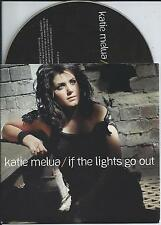 KATIE MELUA - If the lights go out PROMO CD SINGLE 1TR CARDSLEEVE 2008 UK